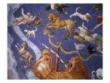 Ceiling from Sala del Mappamondo Fresco by G De Vecchi and da Reggio