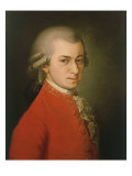 Posthumous Painting of Wolfgang Amadeus Mozart  1756-1791