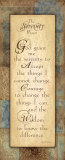 Serenity Prayer
