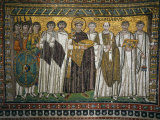 Emperor Justinian  483-565  and His Court