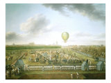 14th Aerostatic Experiment of Mr Blanchard  made at Lille  France  26 August 1785