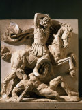 Alexander the Great  Metope  3rd century BC Greek