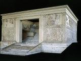 Ara Pacis Augustae  Monumental Altar  Marble
