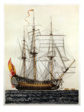 San Telmo  Spanish ship  17th century
