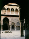 Polyfoil Arcature  Patio de las Doncellas  14th-15th century Arab-Andalucian Architecture