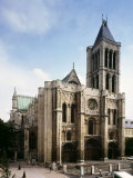 Saint-Denis Cathedral  Gothic  founded 1137 by Abbot Suger