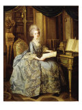 Marie Antoinette  1755-93 Queen of France  as Dauphine