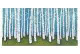 Springtime Birches