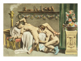 Ancient Times  plate XII of 'De Figuris Veneris' by FK Forberg  engraved by the artist  1900