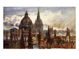 Oxford  from the Sheldonian Theatre  1903