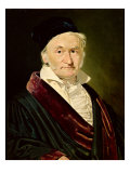 Portrait of Carl Friedrich Gauss  1840