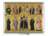 Polyptych of St Luke  c1449