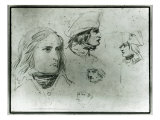 Sketches of Napoleon Bonaparte  1797
