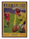 Rugby  Illustration from the Cover of 'Lectures Pour Tous'  1932