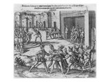 Capture  Trial and Execution of Diego de Almagro by Order of Francisco Pizarro