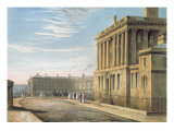 The Royal Crescent  Bath 1820