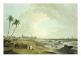 South East View of Fort St George  From 'Oriental Scenery: Twenty Four Views in Hindoostan'