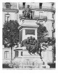 Monument to Alexandre Dumas Pere  1883