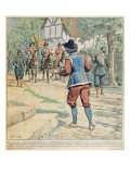 Front cover of a Serialisation of &#39;Vingt Ans Apres&#39; by Alexandre Dumas