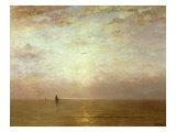 Sunset  c1887