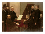 Around the Piano  1885