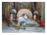 Sarah Bernhardt in Title Role of 'Theodora'  by Victorien Sardou  produced in Paris in 1884  1902