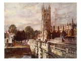 Magdalen Tower and Bridge  1903