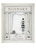 Nijinsky  from the Series 'Designs on the Dances of Vaskac Nijinsky'