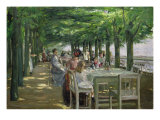 The Terrace at Jacob's Restaurant in Nienstedten-an-der-Elbe  1902-03
