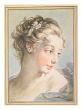 Young Woman  engraved by Louis Marin Bonnet