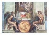 Sistine Chapel Ceiling: Ignudi