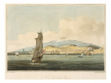 View of Santa Cruz  Plate 3 from 'A Voyage to Cochinchina' by John Barrow