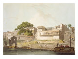 Part of City of Patna  on River Ganges  from 'Oriental Scenery: Twenty Four Views in Hindoostan'