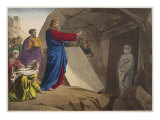 The Raising of Lazarus  Illustration from a Catechism 'L'Histoire Sainte'  Paris  Late 19th Century