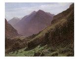 Mountain Study  c1840-43