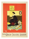 Advertising 'The New Woman' by Sydney Grundy  at the Comedy Theatre  London