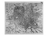 Map of Rome  1579
