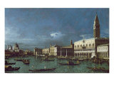 The Grand Canal with the Church of Santa Maria della Salute