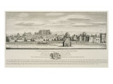 St James's Palace and Part of City of Westminster from the North Side of Pall Mall in 1660