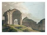 The Ruins of the Palace at Madurai  1798