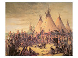 Sioux Indian Council  1847