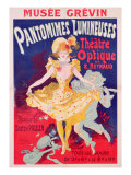 Poster Advertising 'Pantomimes Lumineuses  Theatre Optique de E Reynaud' at the Musee Grevin  1892