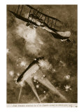 Lieut Brandon Attacking One of the Zeppelin Raiders on March 31St  1916  1914-19