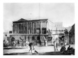 Manufactory and Bazaar  Calcutta House  engraved by Francis Jukes  1795
