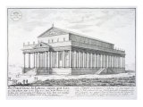 The Temple of Diana at Ephesus  Turkey  from 'Entwurf einer historischen Architektur'  1721