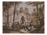 Arch of Labna  Yucatan  Mexico  Illustration from 'Views of Ancient Monuments in Central America'