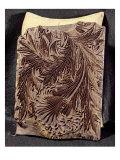 Tulip Design Printing Block  1875