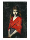 Portrait of a Young Girl  The Shiverer