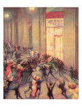 Riot in the Galleria  1909