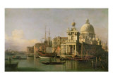 A view of the Dogana and Santa Maria della Salute